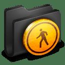 Public Black Folder icon