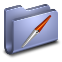 Sites Blue Folder icon