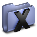 System Blue Folder icon
