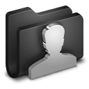User-Black-Folder icon
