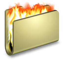 Burn Folder icon