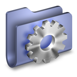 Developer Blue Folder icon