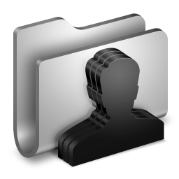Group Metal Folder icon
