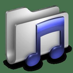 Music Metal Folder icon