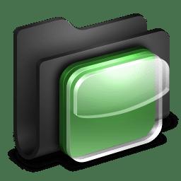 iOS Icons Black Folder icon
