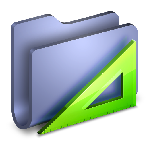 Applications Blue Folder icon