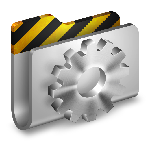 Developer Metal 2 Folder icon