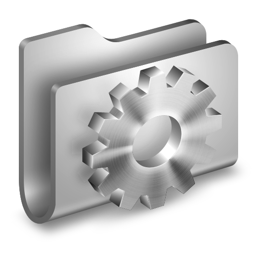 Developer Metal Folder icon