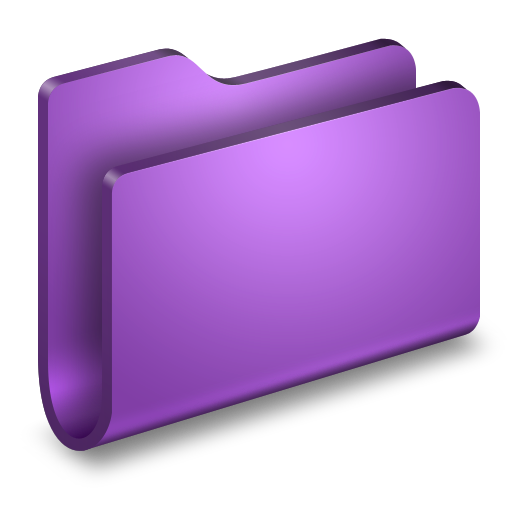 Generic Purple Folder icon