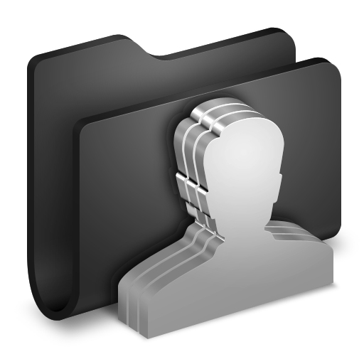 Group-Black-Folder icon
