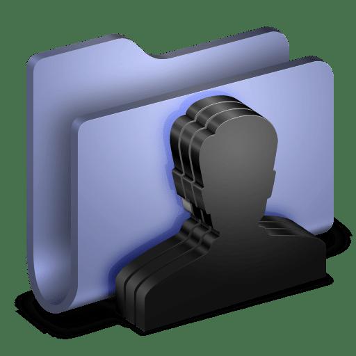 Group Blue Folder icon