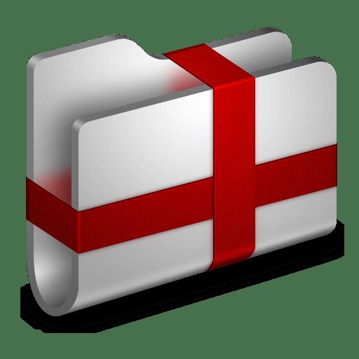 Package Metal Folder icon