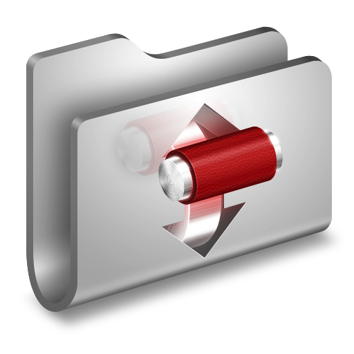 Torrents-Metal-Folder icon