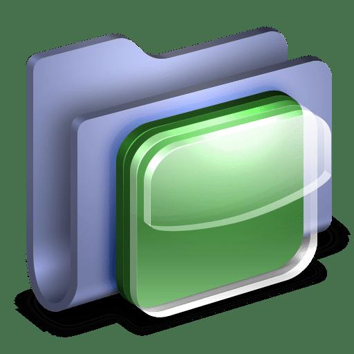 IOS-Icons-Blue-Folder icon