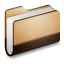 Library Brown Folder icon