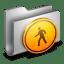 Public Metal Folder icon