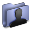 User Blue Folder icon