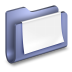 Documents-Blue-Folder icon