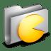 Games-Metal-Folder icon