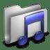 Music-Metal-Folder icon