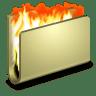 Burn-Folder icon