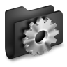 Developer-Black-Folder icon