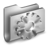 Developer-Metal-Folder icon