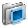 DropBox-Metal-Folder icon