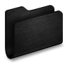 Folder-Black-Metal-Folder icon
