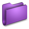 Generic-Purple-Folder icon