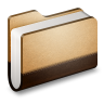 Library-Brown-Folder icon