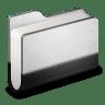 Llibrary-Metal-Folder icon