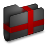 Package-Black-Folder icon