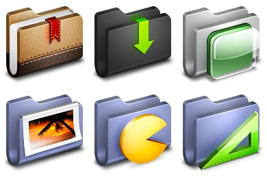Alumin Folders Icons