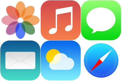 iOS7 Redesign Icons