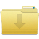 Folders Downloads Folder icon
