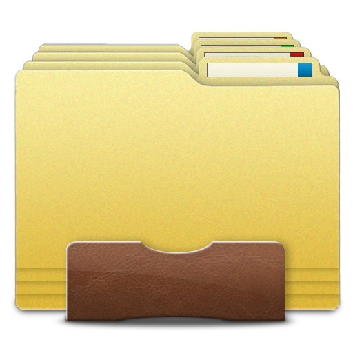 how to show folder images on dock mac