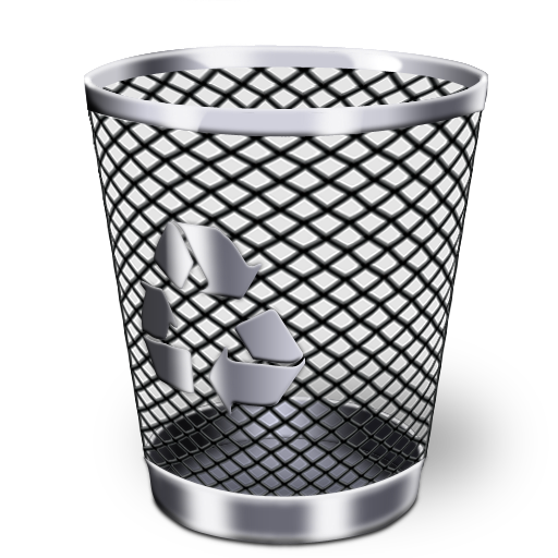 Recycle-BinRecycle Bin Icon Black