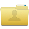 Folders-User-Folder icon