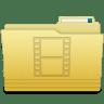 Folders-Videos-Folder icon