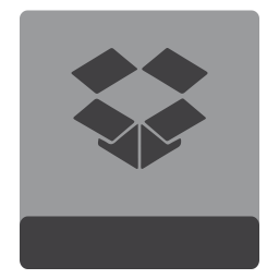 Drive HDD Dropbox icon