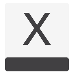 Drive HDD OSX White icon