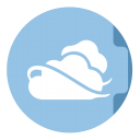 Folder-Skydrive icon