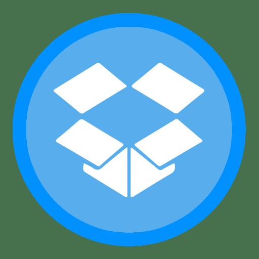 App Dropbox Icon | The Circle Iconset | xenatt