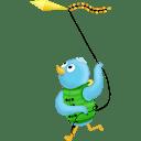 Spring kite icon