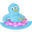 Summer-swim-ring-follow-me icon