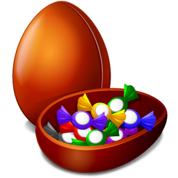 chocolate egg icon