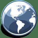 Globe icon