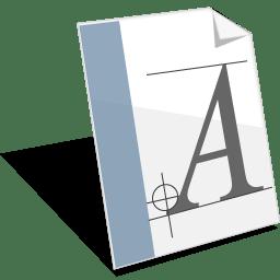 Font Type icon