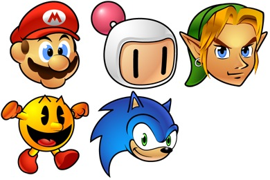 Game Stars Icons